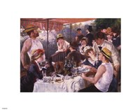 Luncheon of the Boating Party, c.1881 Framed Print