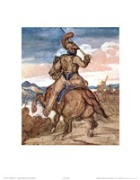 Mounted Officer Fine Art Print