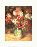 Tulips in a Vase Fine Art Print