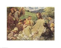 Christ and the Little Children Fine Art Print