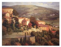 Italian Overlook Fine Art Print