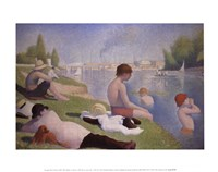 Bathers at Asnieres Fine Art Print