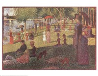 Study for 'Sunday on La Grande Jatte' Fine Art Print