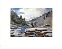 Hudson River Logging Fine Art Print