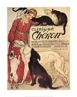 Clinique Cheron Framed Print