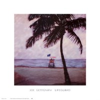 Lifeguard Fine Art Print