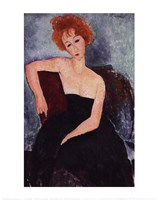 Red-Headed Woman Fine Art Print