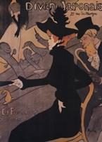 Le Divan Japonais Fine Art Print