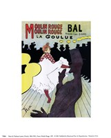 Poster, Moulin Rouge, 1891 Framed Print