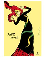Jane Avril Framed Print
