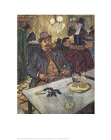 M. Boileau au Cafe Fine Art Print