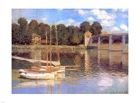 Bridge at Argenteuil Fine Art Print