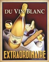 Du Vin Blanc Extraordinaire Fine Art Print