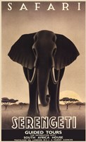 Serengeti Framed Print