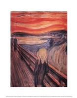 The Scream, c.1893 Framed Print