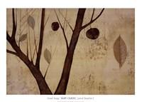 Lyrical Branches I Fine Art Print
