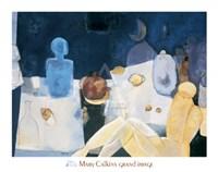 Blue Nude Fine Art Print