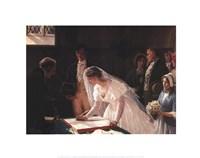 Signing the Register Fine Art Print