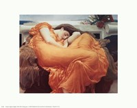 Flaming June, c.1895 Fine Art Print