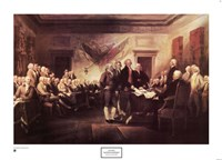 The Declaration of Independence Fine Art Print