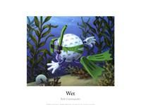 Wet Fine Art Print