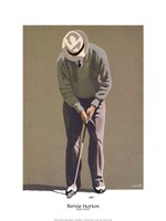The Putt Framed Print