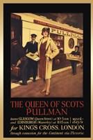 Vintage Travel - Queen Of Scots Fine Art Print