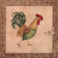 Farmyard Bird I Fine Art Print