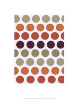 Terracotta Spots Fine Art Print