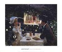 Dinner at Les Ambassadeurs Fine Art Print