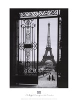 The Eiffel Tower from the Trocadero Framed Print