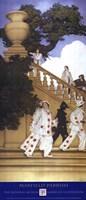 Florentine Fete - A Stairway to Summer, 1912 Fine Art Print