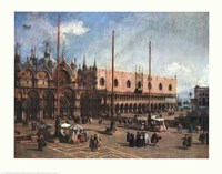 Square of St. Mark Fine Art Print