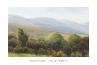Valley View I Fine Art Print