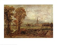 Salisbury Cathedral Fine Art Print