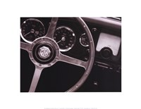 Steering Wheel Fine Art Print