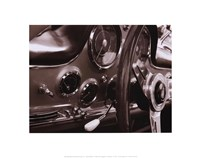 Dashboard Framed Print
