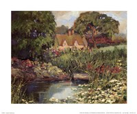 Garden Hideaway Fine Art Print