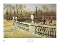 Jardin du Luxembourg Fine Art Print