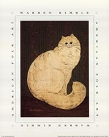White Persian Cat Fine Art Print