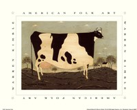 American Cow Framed Print