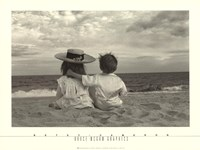 Two Children Fine Art Print