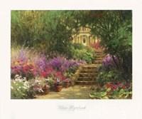 Garden Steps Fine Art Print