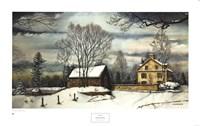 December Morning Fine Art Print