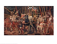 Battle of San Romano Fine Art Print