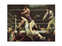 Dempsey and Firpo, 1923 Fine Art Print