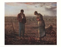 The Angelus, c.1859 Fine Art Print