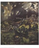 View of Toledo Fine Art Print