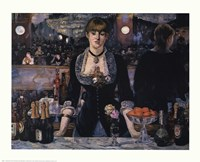 Bar At the Folies-Bergere Fine Art Print