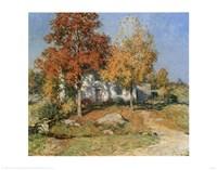 October Fine Art Print